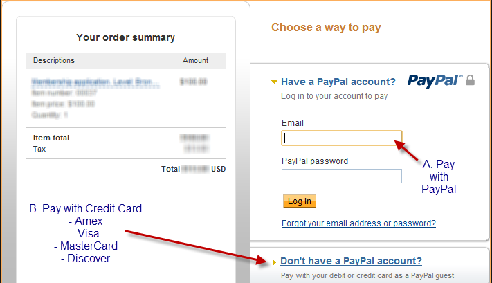 Online Payment Instructions